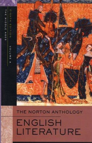Norton Anthology of English Literature: v. A
