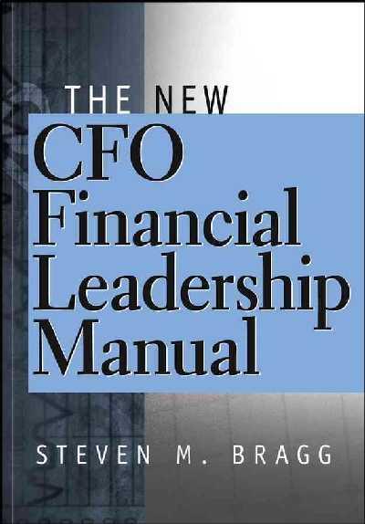 New CFO Financial Leadership Manual