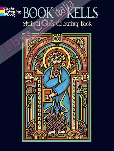 Book of Kells, Stained Glass Coloring Book