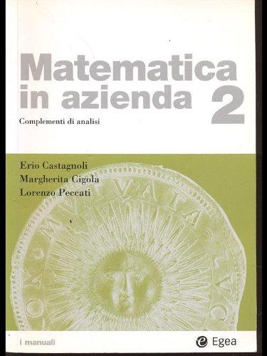 Matematica in Azienda. Vol. 2