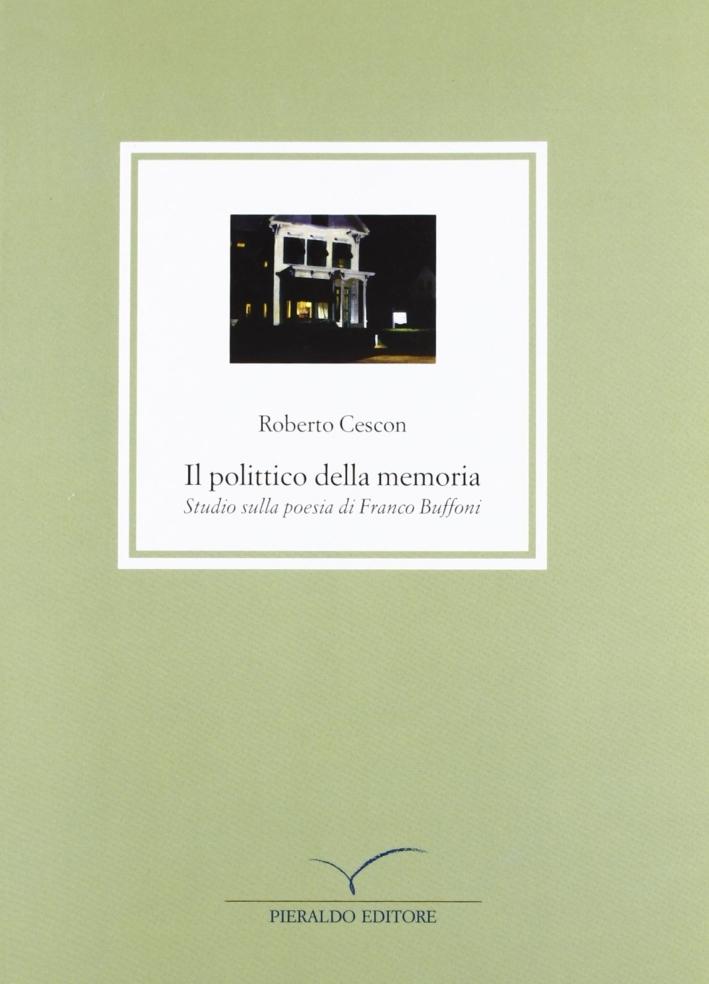 Il politico della memoria