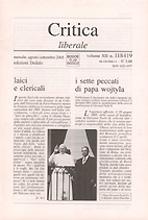 Critica liberale vol: 118-119