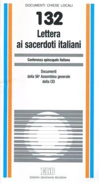 Lettera ai sacerdoti italiani. Documenti della 56ª Assemblea generale della CEI
