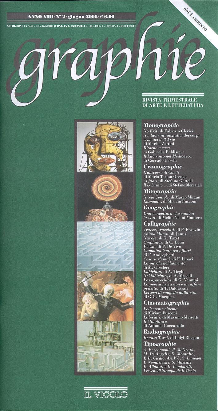 Graphie. Rivista di Arte e Letteratura Contemporanea. 8/2006. Anno VIII