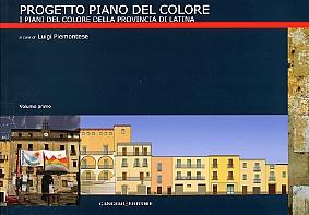 Progetto piano del colore. I piani del colore della provincia di Latina.