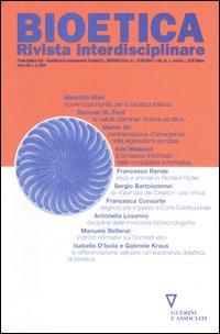Bioetica. Rivista interdisciplinare (2006). Vol. 3