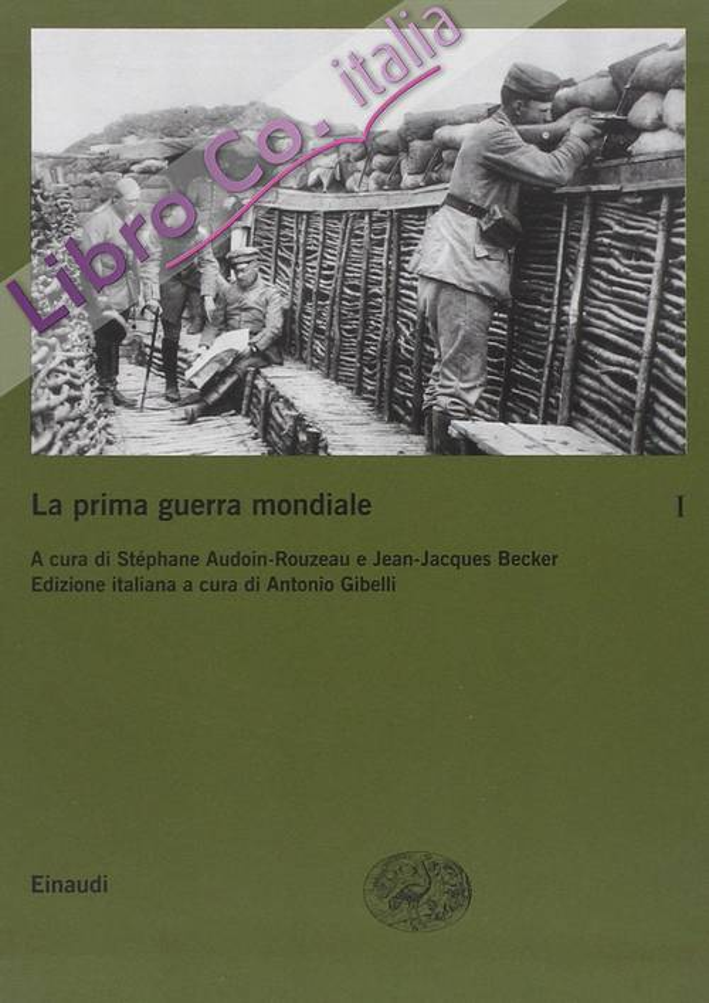 La prima guerra mondiale. Vol. 1