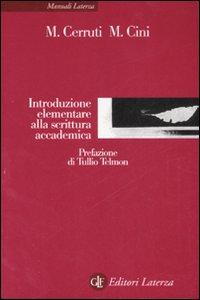 Introduzione elementare alla scrittura accademica.