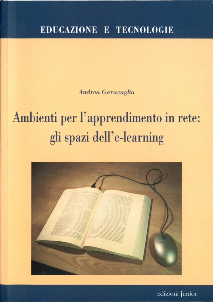 Ambienti per l'apprendimento in rete: gli spazi dell'e-learning