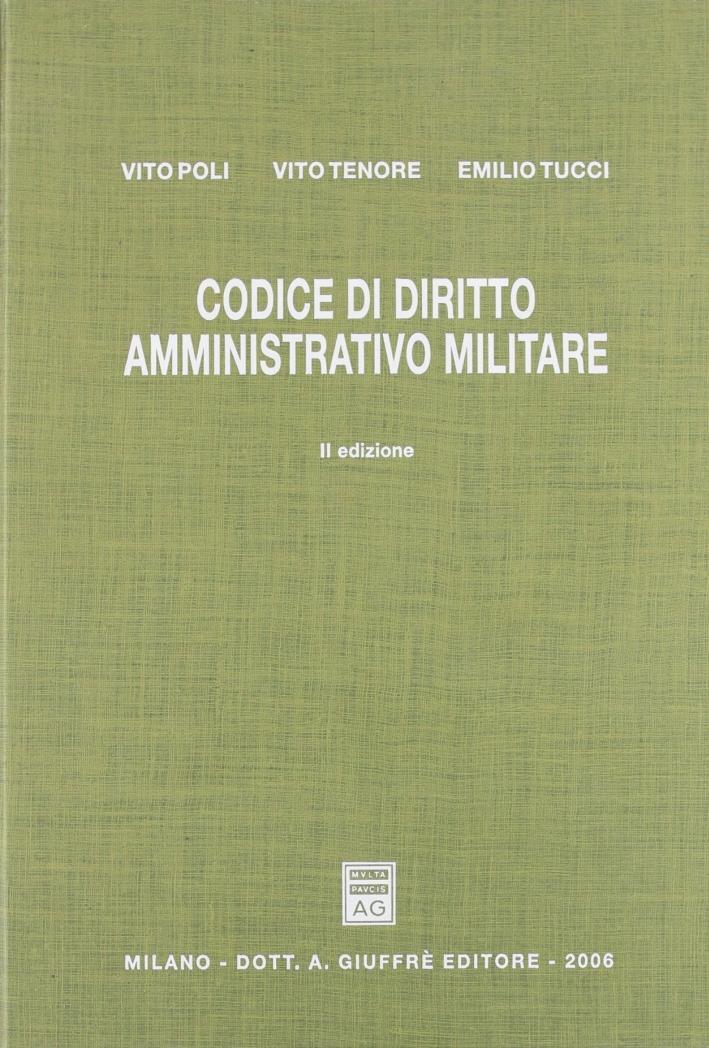 Codice di diritto amministrativo militare