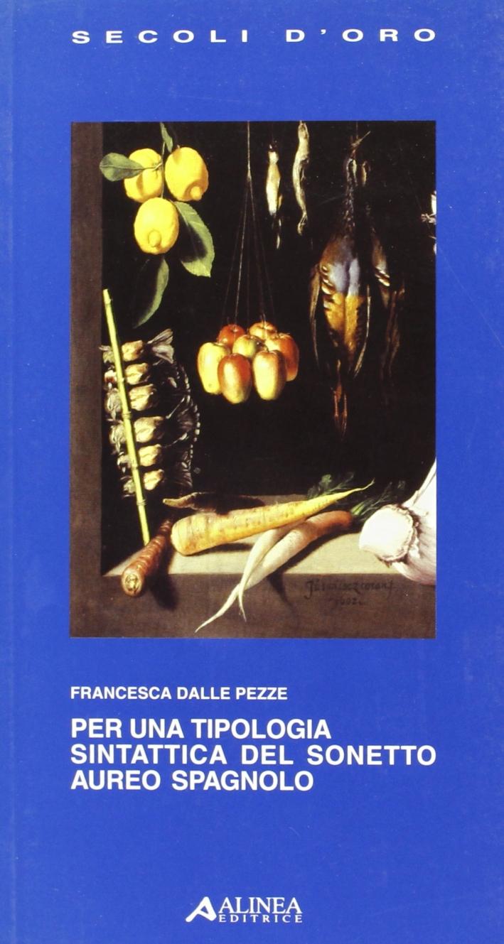 Per una Tipologia Sintattica del Sonetto Aureo Spagnolo.