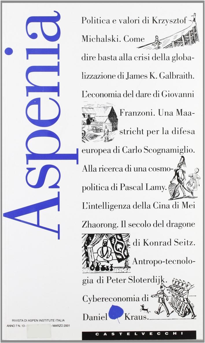 Aspenia. Vol. 13.