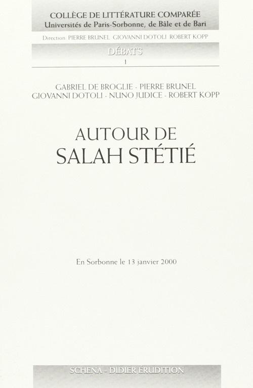 Autour de Salah Stétié