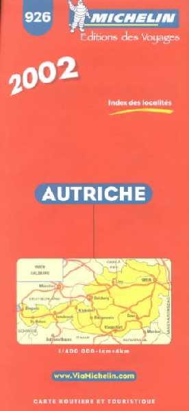 Autriche 1:400.000.