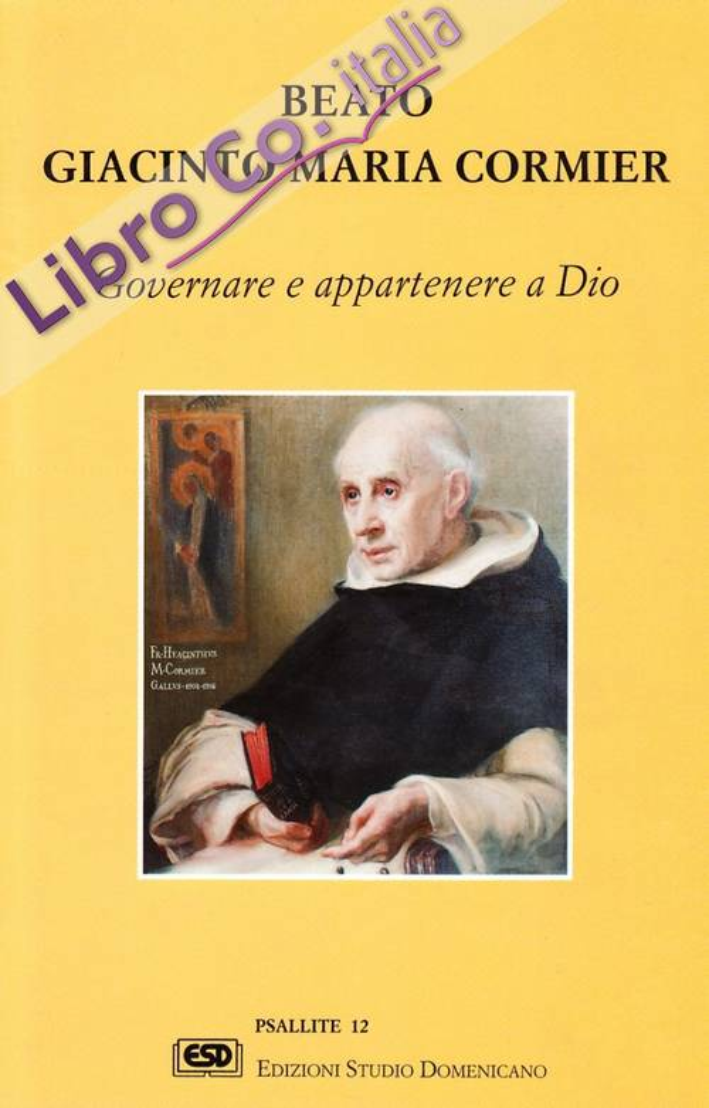 Beato Giacinto Maria Cormier.