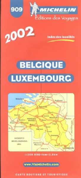 Belgique, Luxembourg 1:350.000.