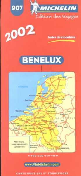 Benelux 1:400.000