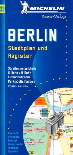 Berlin. Stadtplan 1:15.000.