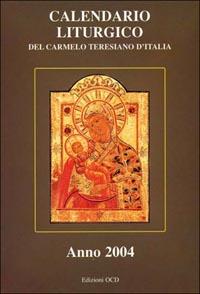 Calendario liturgico del Carmelo teresiano d'Italia