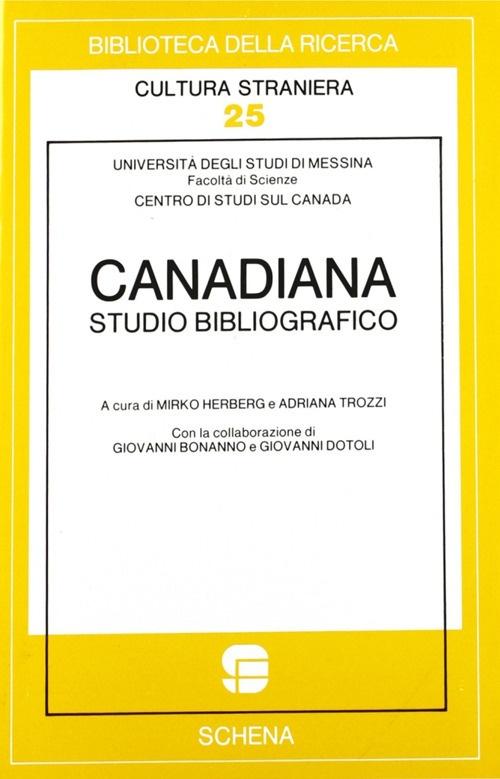 Canadiana. Studio bibliografico