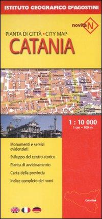 Catania 1:10 000. Ediz. Multilingue