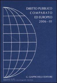 Rivista di Diritto Pubblico Comparato ed Europeo 2006/3