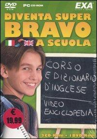 Diventa super bravo a scuola: Visual dictionary-Io amo l'inglese-Docta. Video enciclopedia 2006. 1 DVD-ROM. 2 CD-ROM