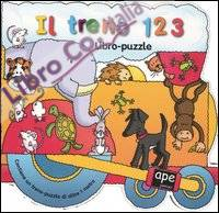 Il treno 123. Libro-puzzle.