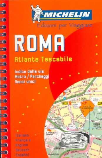 Roma. Atlante tascabile 1:10.000