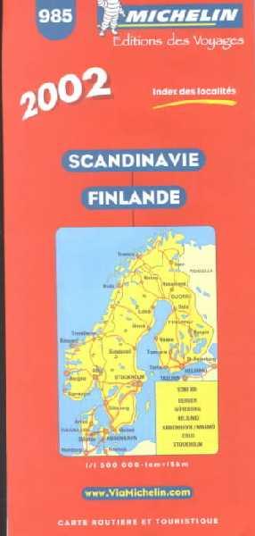 Scandinavie, Finlande 1:1.500.000