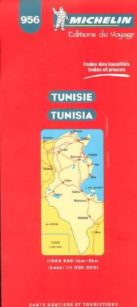 Tunisie 1:800.000