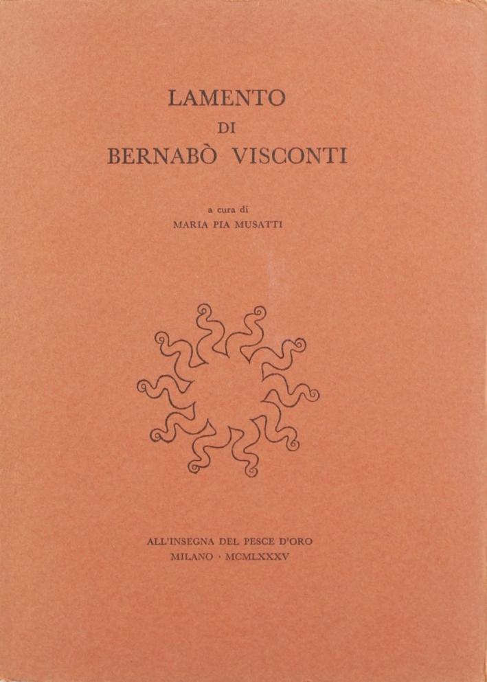 Lamento di Bernabò Visconti.