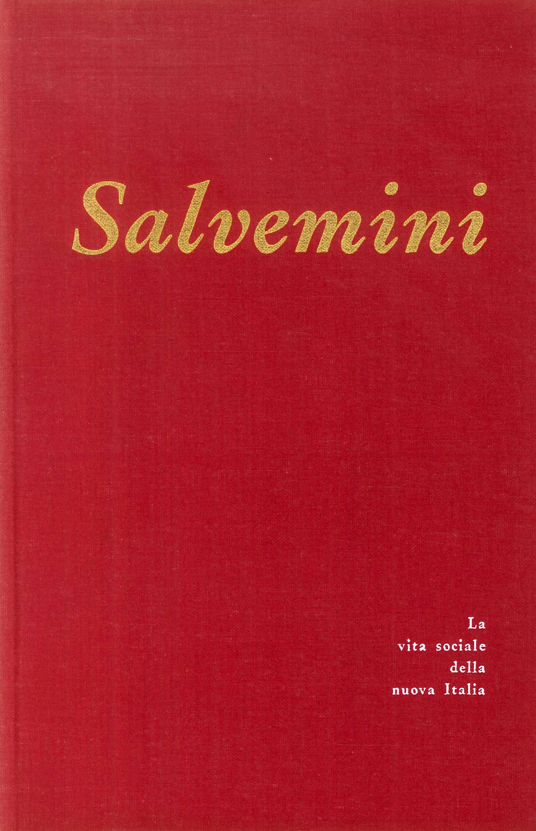 Gaetano Salvemini.