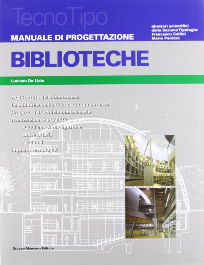 Biblioteche. Manuale di progettazione