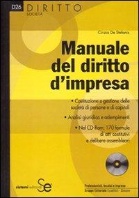 Manuale del diritto d'impresa. Con CD-ROM