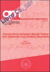 Connections between model theory and algebraic and analytic geometry