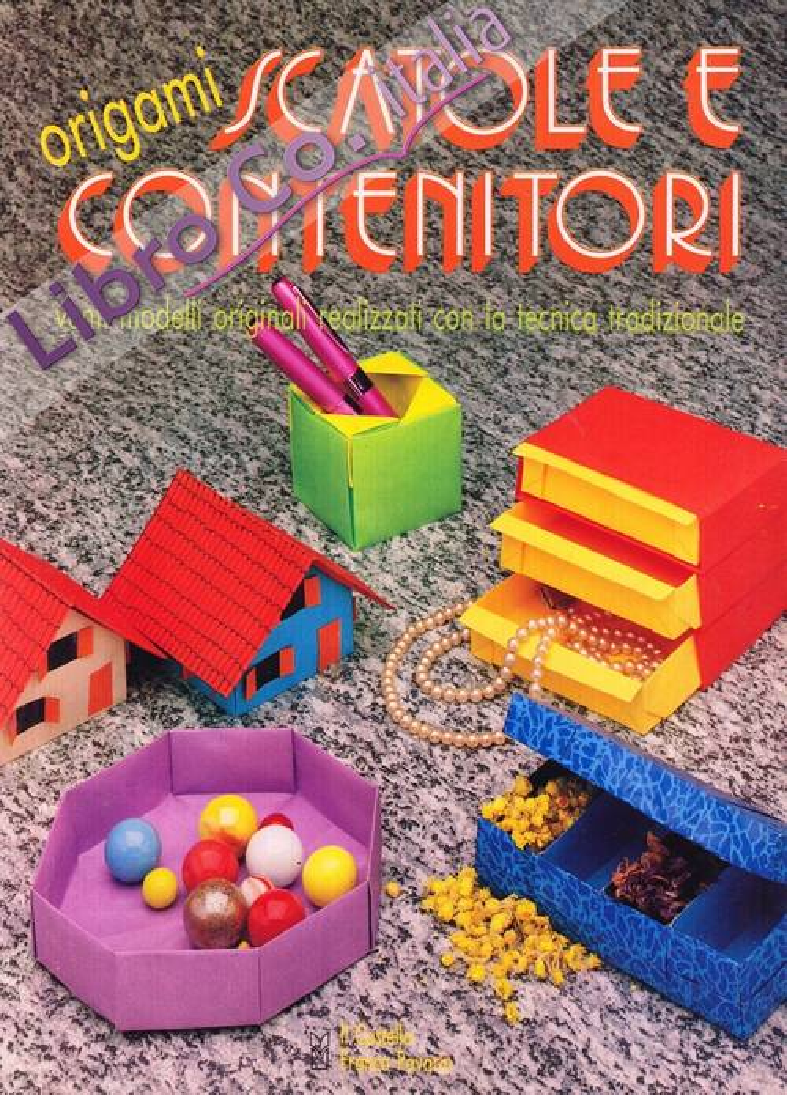 Origami scatole e contenitori. 20 modelli originali realizzati con la tecnica tradizionale.