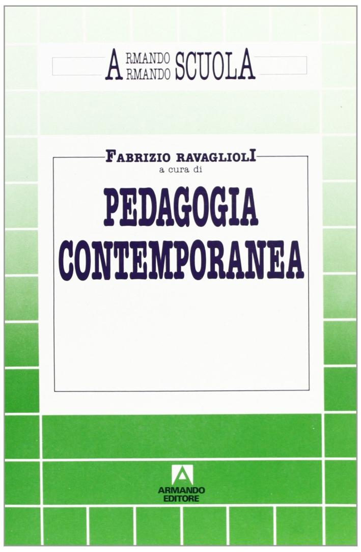 Pedagogia contemporanea.