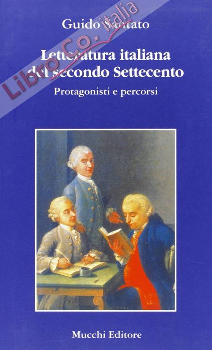Letteratura italiana del secondo Settecento.