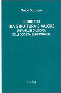 Il diritto tra struttura e valore. Un'analisi giuridica delle società bergsoniane