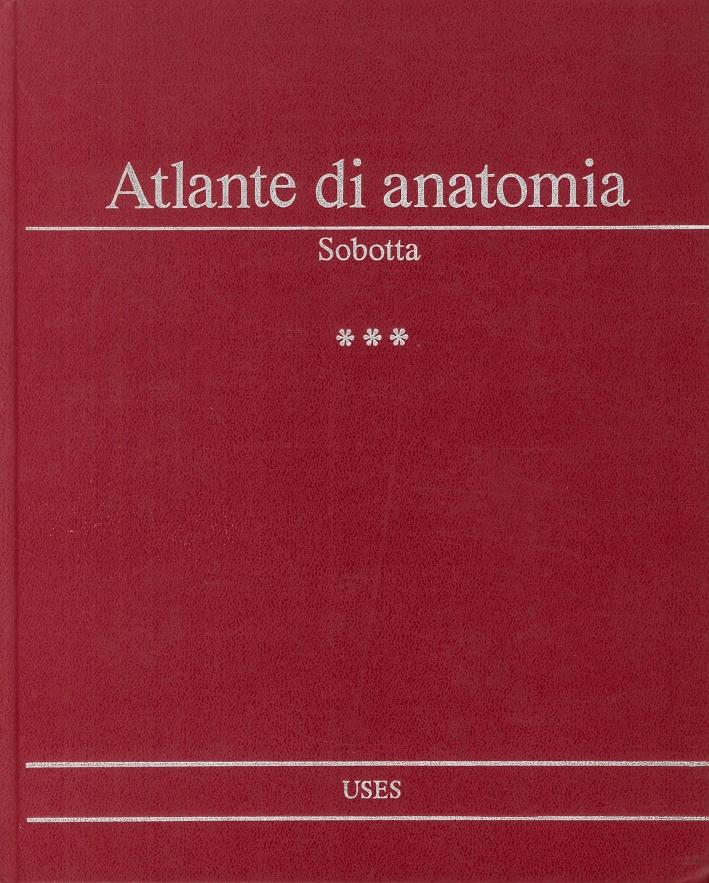Atlante di anatomia dell'uomo.
