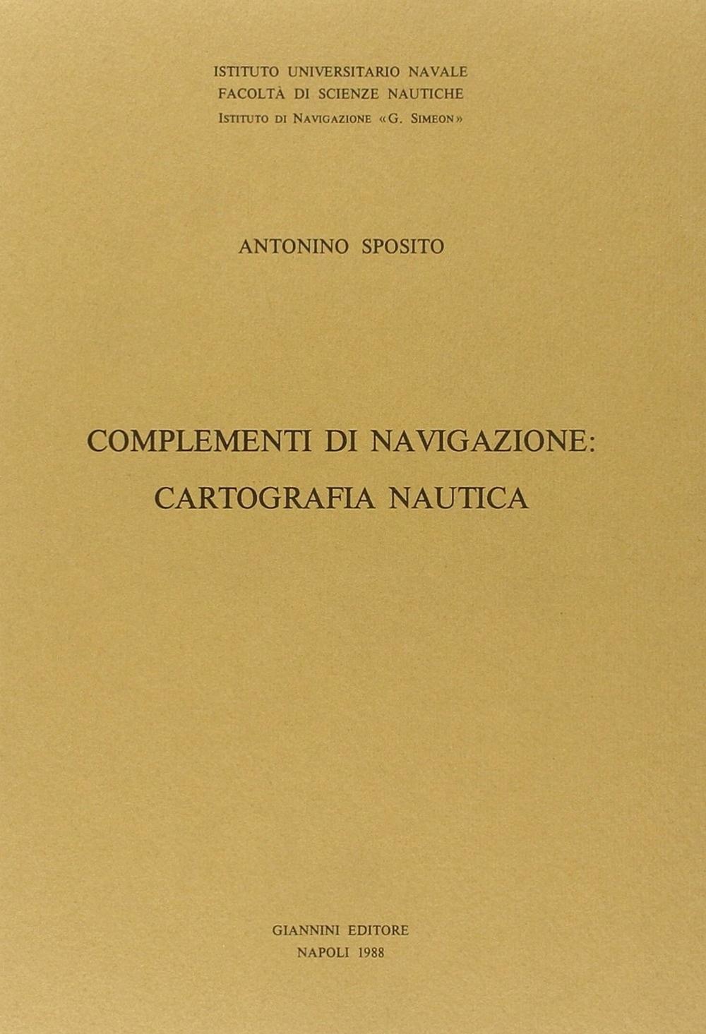 Complementi di navigazione: cartografia nautica