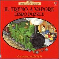 Il treno a vapore.