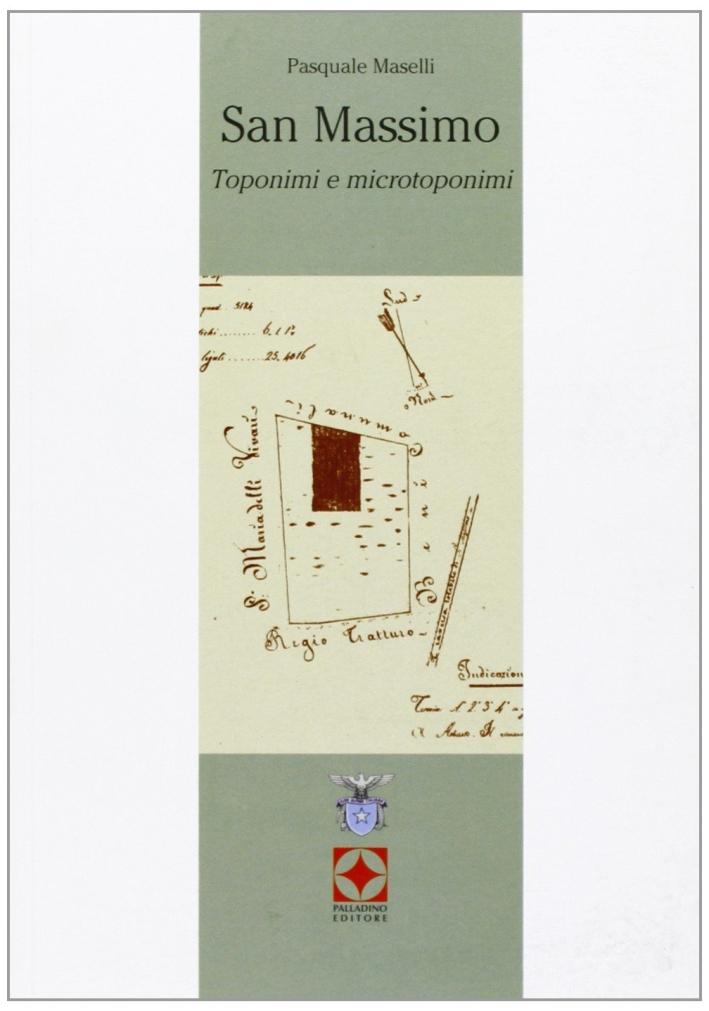 San Massimo. Toponimi e microtoponimi