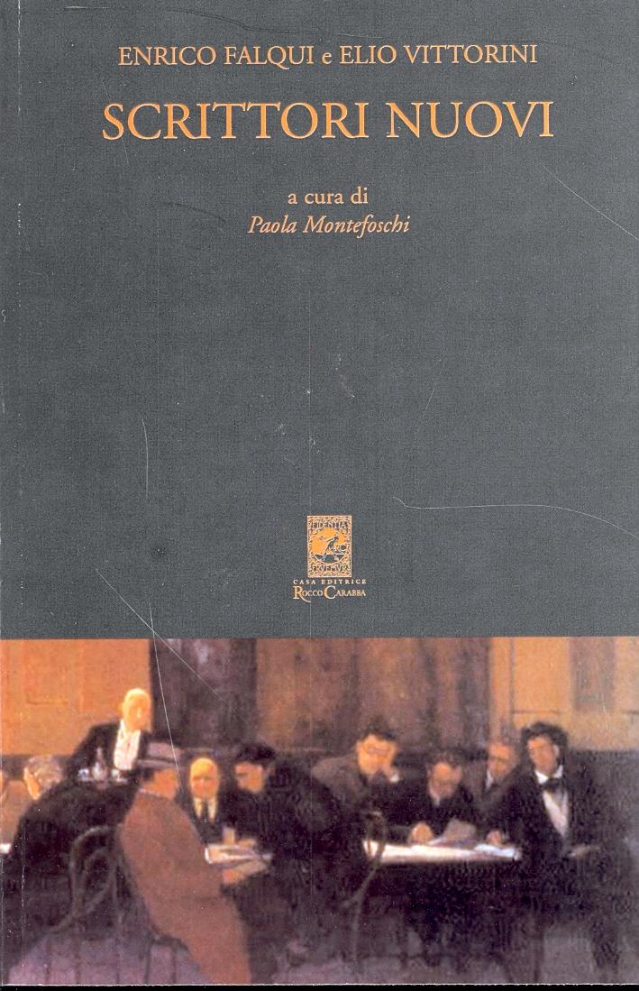 Scrittori Nuovi. Antologia Italiana Contemporanea di Falqui e Vittorini