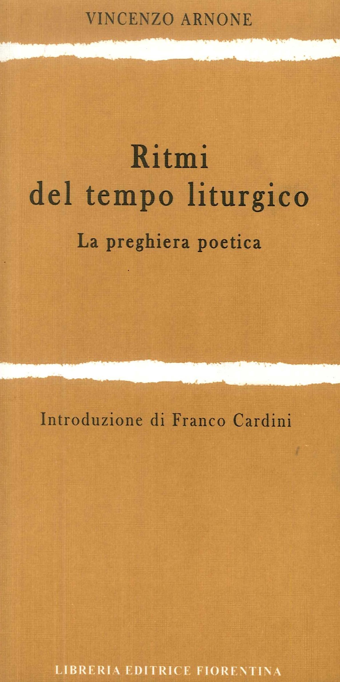 Ritmi del tempo liturgico. La preghiera poetica