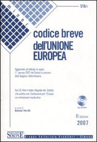 Codice breve dell'Unione europea. Con CD-ROM