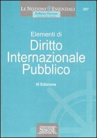 Elementi di diritto internazionale pubblico