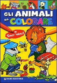 Gli animali da colorare. Ediz. illustrata