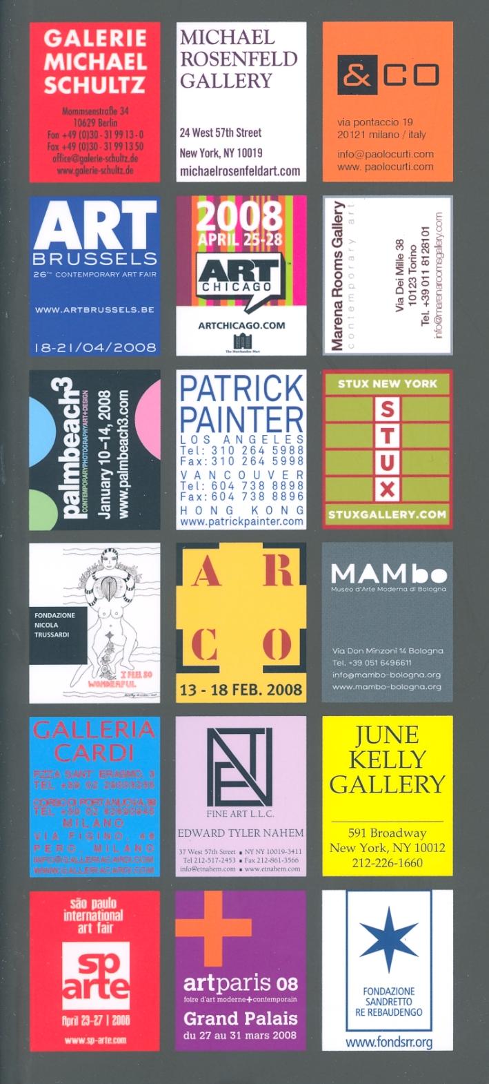 Art Diary International 2007-2008